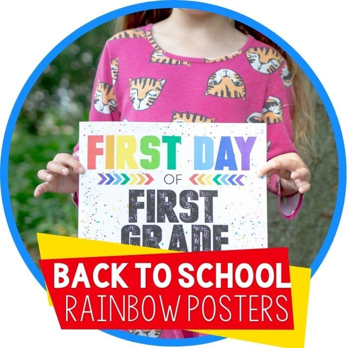 back to school posters rainbow splatter featured image