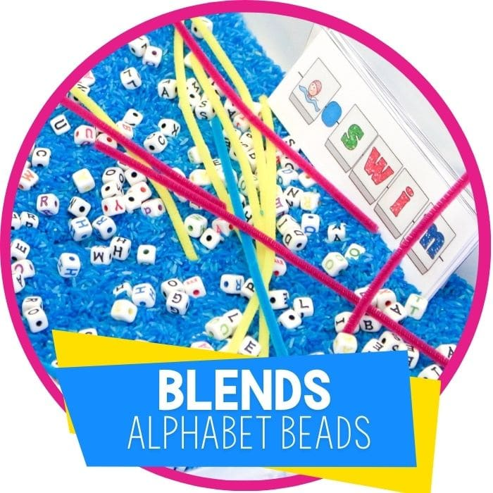 FREE Blends Word Building Activity