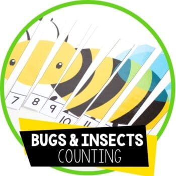 bugs and insects counting puzzles featured image