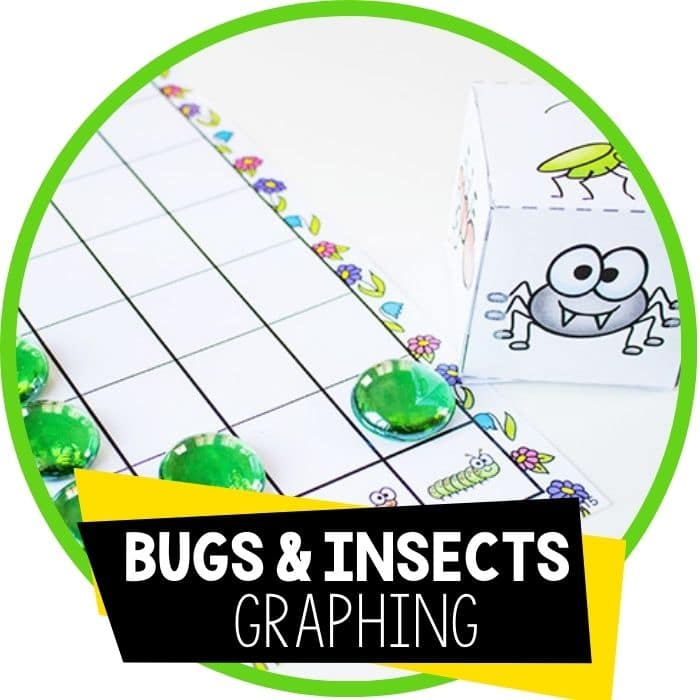 Free Printable Bug Graphing Dice