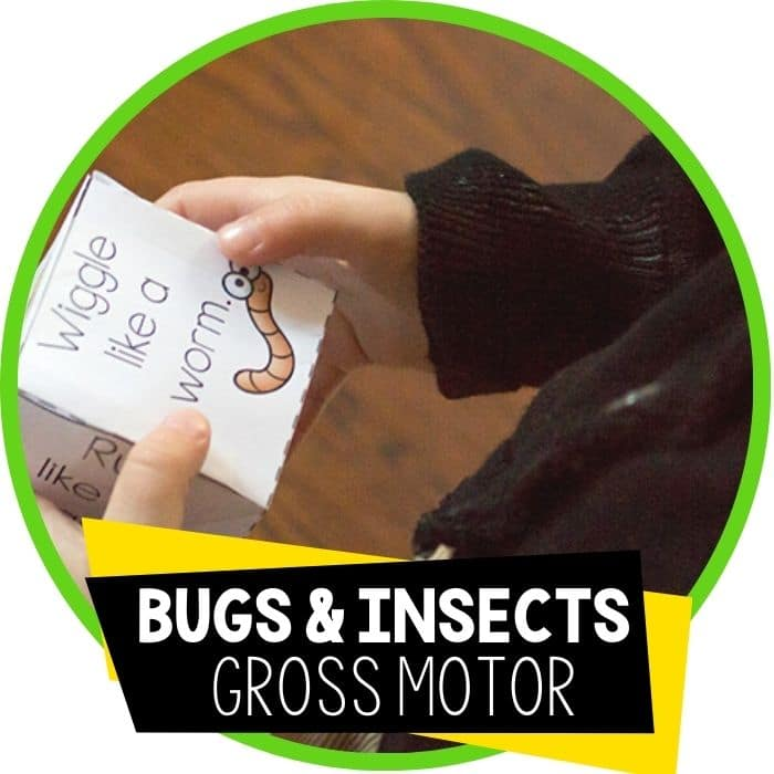 bugs and insects gross motor brain break featured image