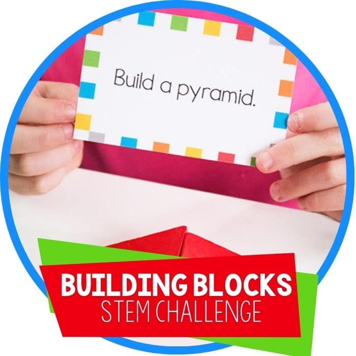Building Block STEM Challenge Cards