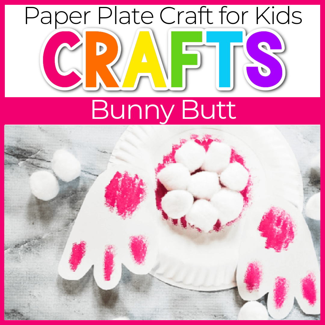 Easy Bunny Tail Craft For Preschoolers