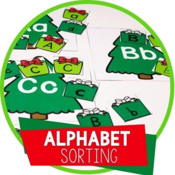Alphabet sorting activity with Christmas theme Featured Image
