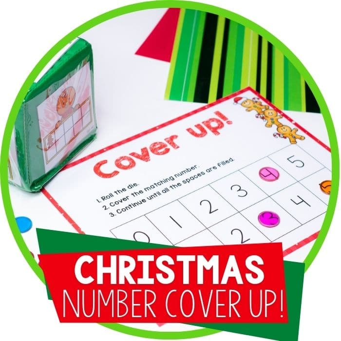3 Christmas Math Games for Preschool