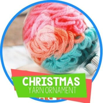 Christmas ornament filled with yarn Featured Image