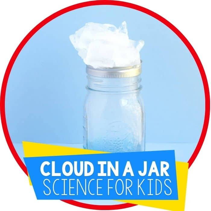 Cloud in a Jar Science Activity for Kids