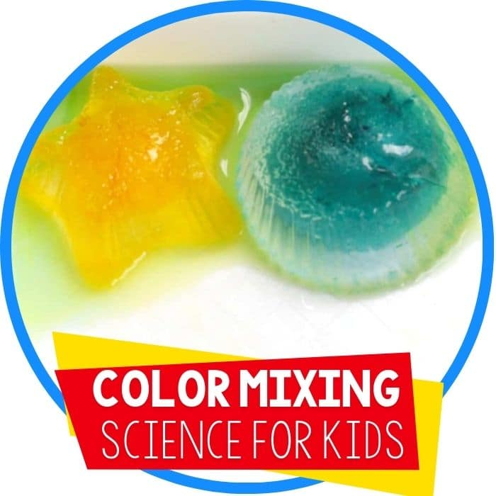 Color Mixing Ice: Preschool Science Activity