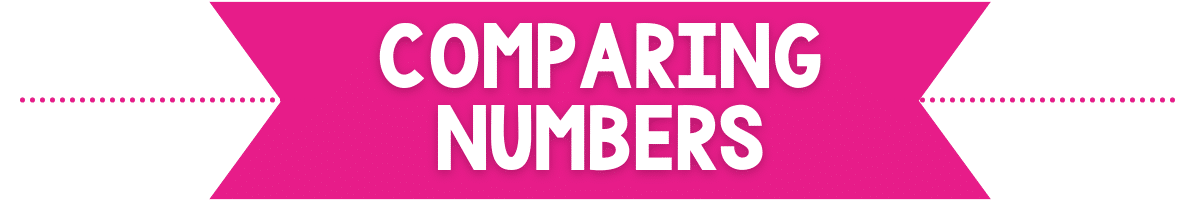 comparing numbers banner image