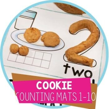 cookie counting mats 1-10 featured image