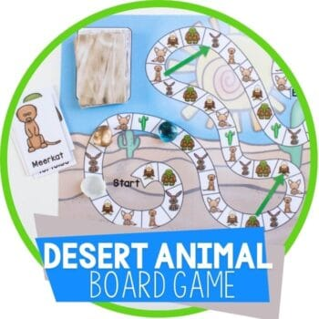 desert animal board game featured image