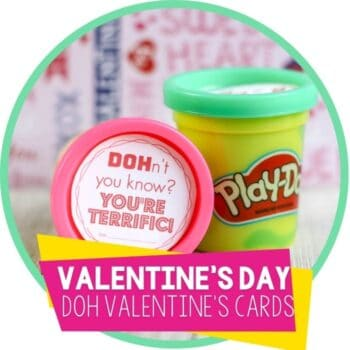 Play Doh Valentine Cards for Kids featuredimage.