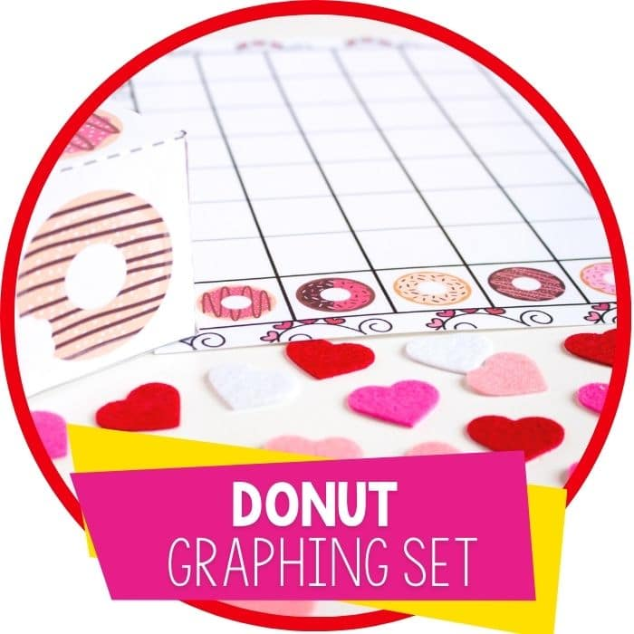 donut graphing set for valentines day featured image