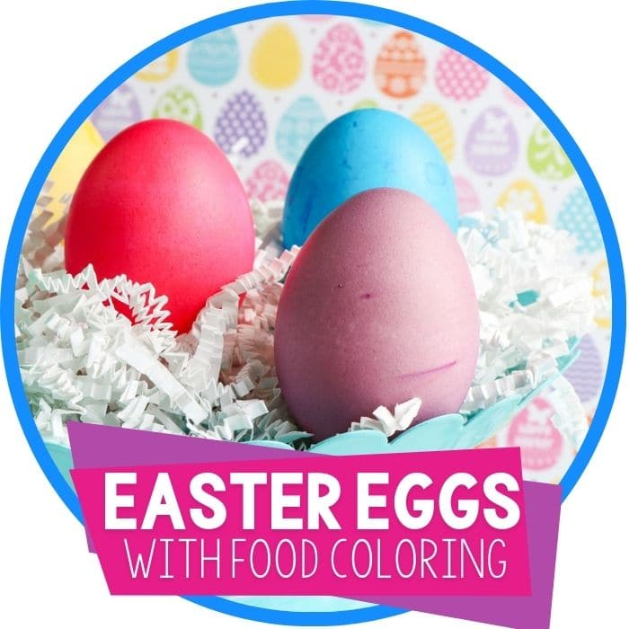 How to Dye Easter Eggs with Food Coloring and Vinegar