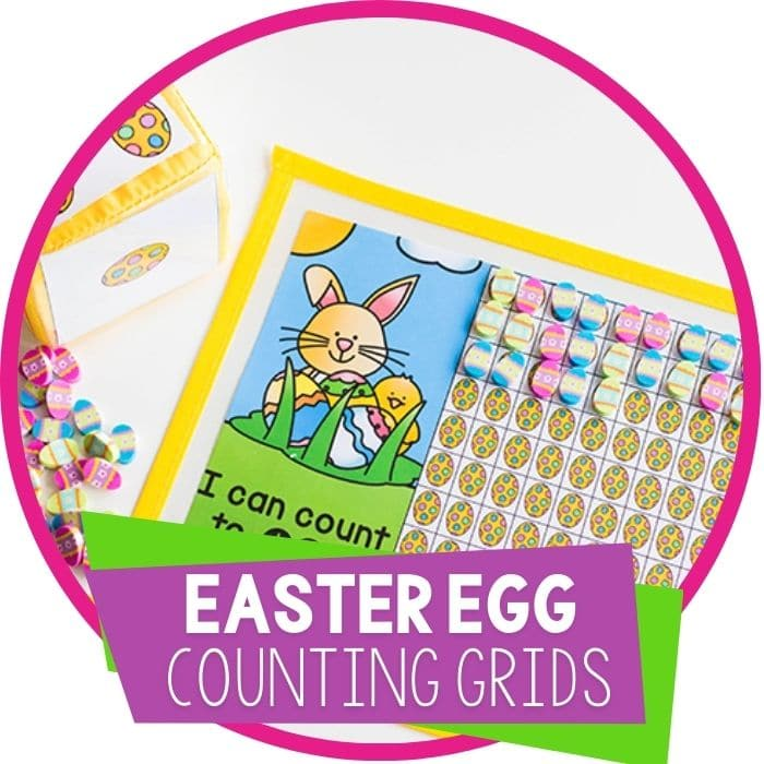 Free Printable Easter Math Game for Kids