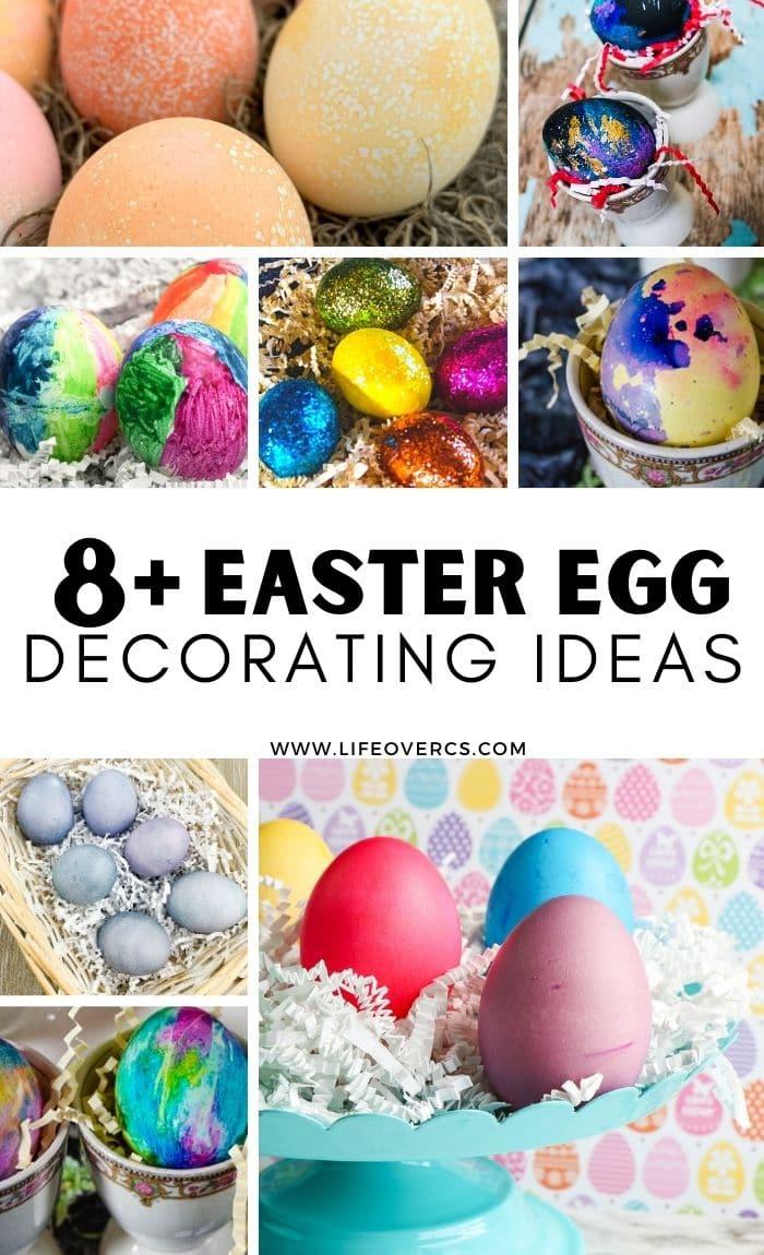 8+ Easter Egg Decorating Ideas