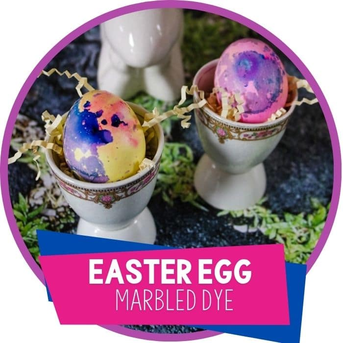 How to Make Easy Marbled Easter Eggs