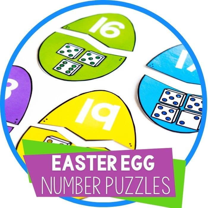Your Kids Will Love This Super Simple Easter Egg Math Puzzle