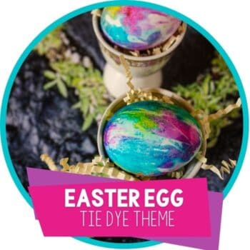 Tie Dye Easter Eggs featured image