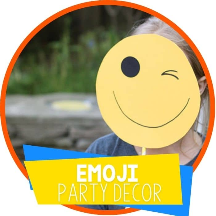 emoji party decorations featured image