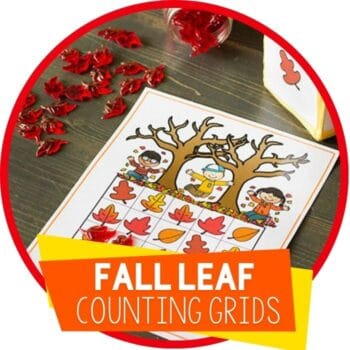 fall leaf counting grids featured image