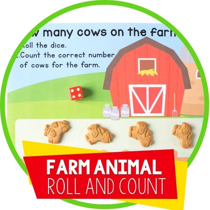 How Many Cows on the Farm Counting Game