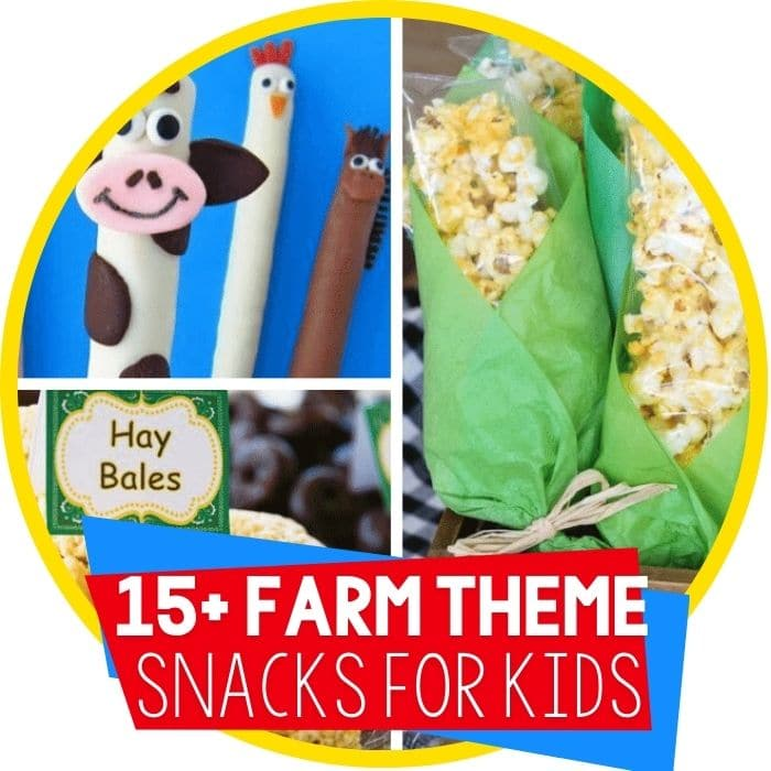 Fun Farm Animal Snacks Your Kids Will Love!