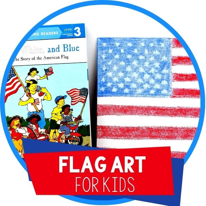 Easy American Flag 4th of July Craft for Kids