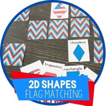 flag theme 2d shapes matching featured image