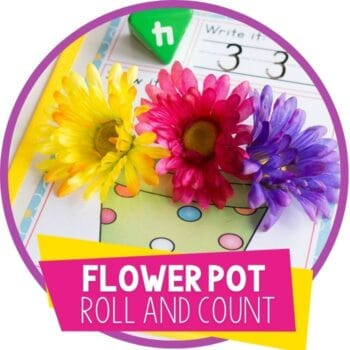 flower pot spring roll and count featured image