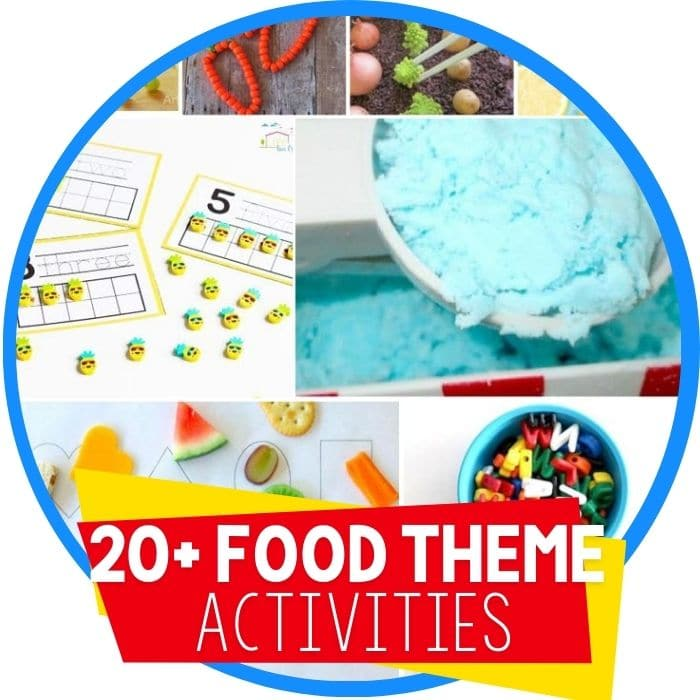 50+ Super Fun Food Themed Hands On Activities
