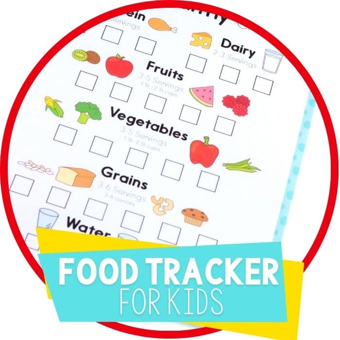 Get Your Kids to Eat Healthy with this Free Food Tracker