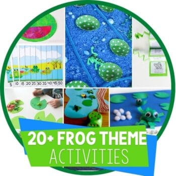 frog theme activities round up Featured Image