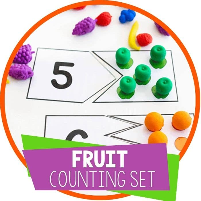 Free Printable Fruit Counting Activities