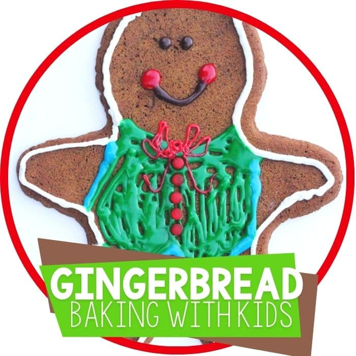 Giant Gingerbread Men: Baking with Kids
