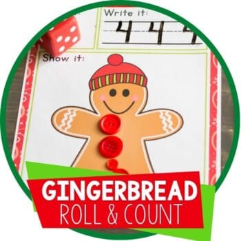 gingerbread roll and count featured image