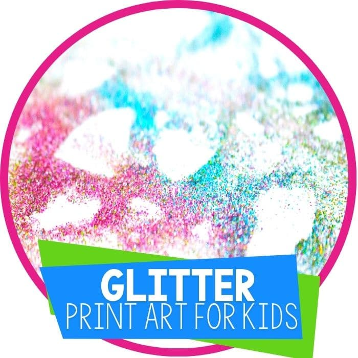 glitter art prints for kids featured image