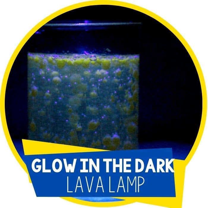 Glow in the Dark Lava Lamp: Science for Kids