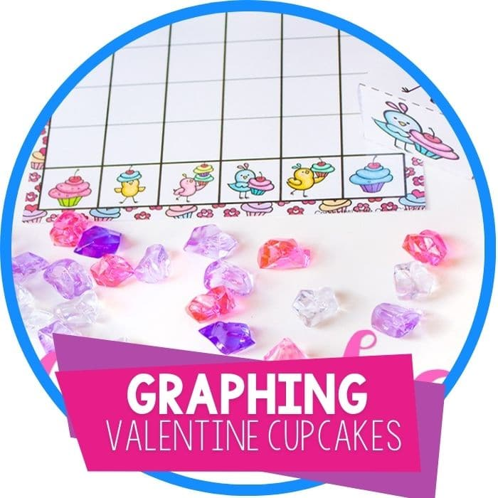 Valentine's Day Cupcake Graphing