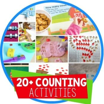 hands on counting activities round up featured image
