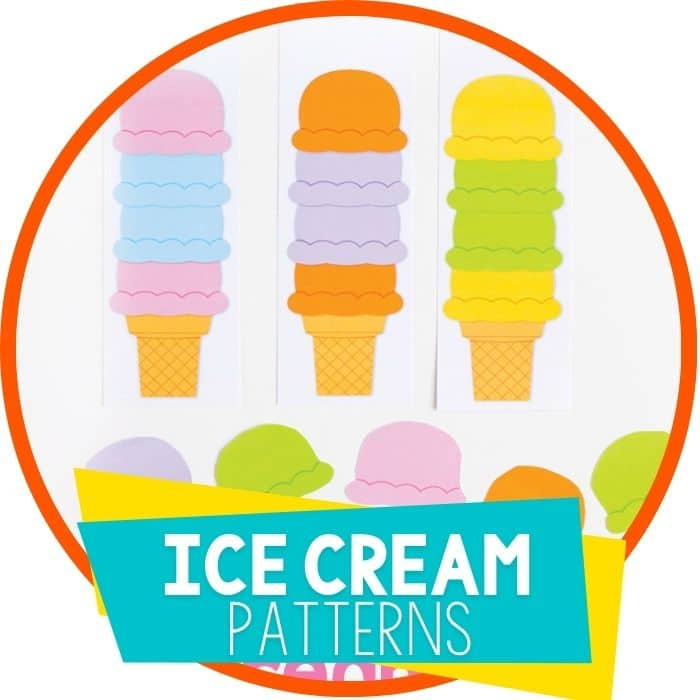 ice cream cone patterns featured image