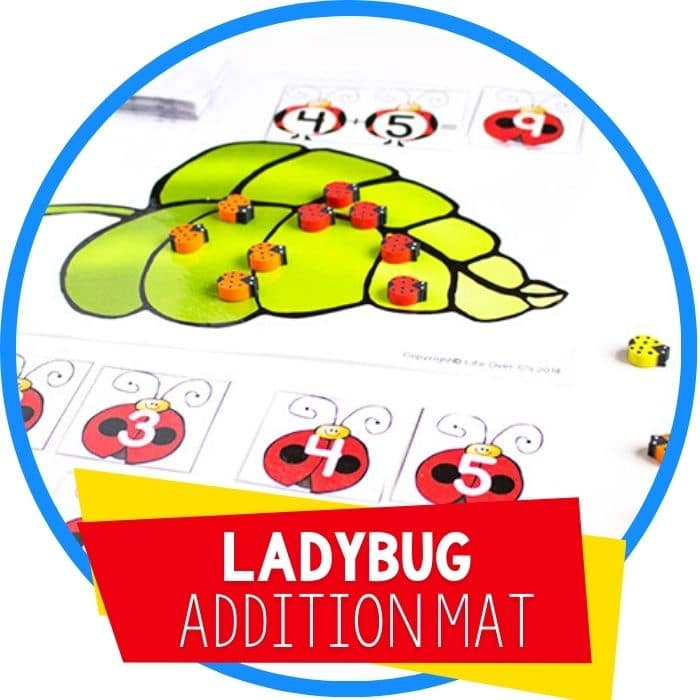 ladybug addition mat featured image