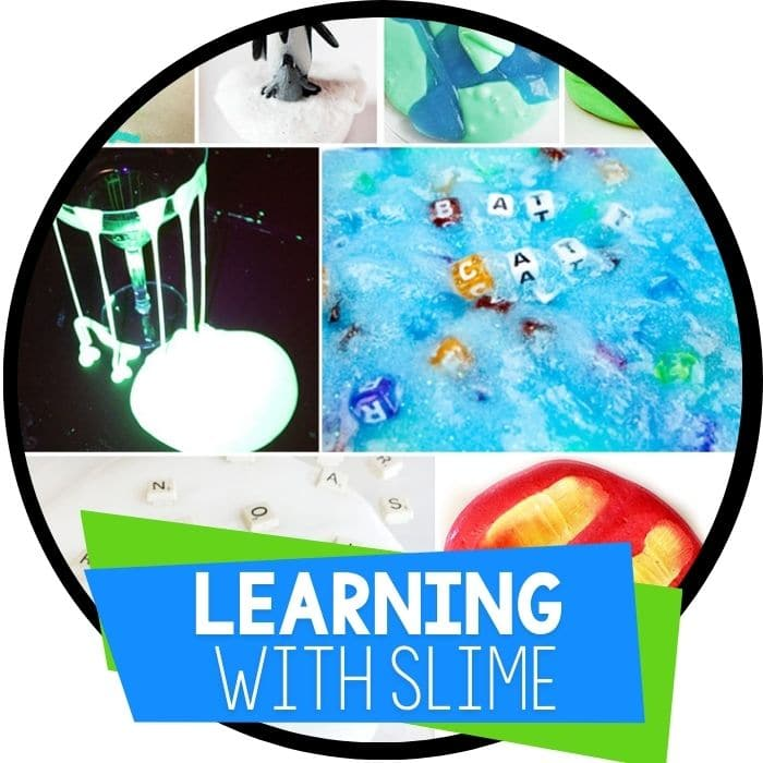 learning with slime activities featured image