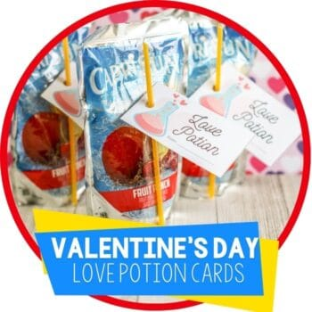 Love Potion Valentine's Day Card featured image.