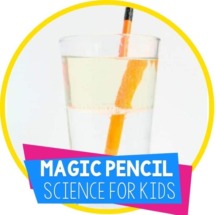magic breaking pencil science experiment featured image