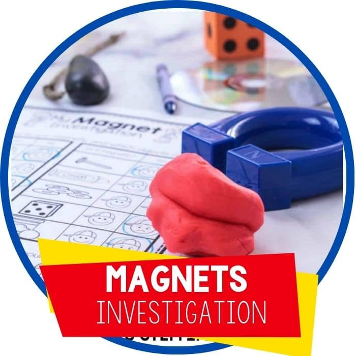 Preschool Magnet Activity and STEM Investigation Printable