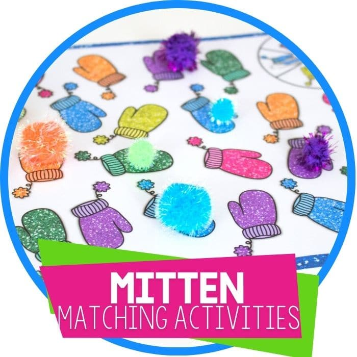 Mitten Matching Activities for Preschool