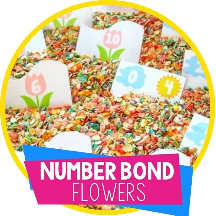 FREE  Flower Number Bond Puzzles
