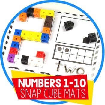numbers 1-10 snap cube mats featured image