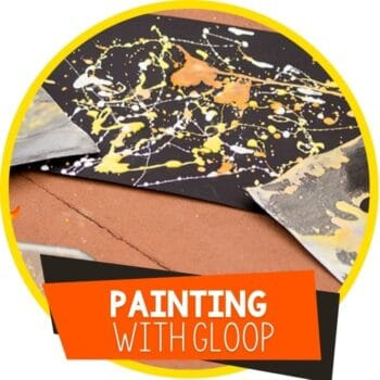 painting with gloop fall featured image